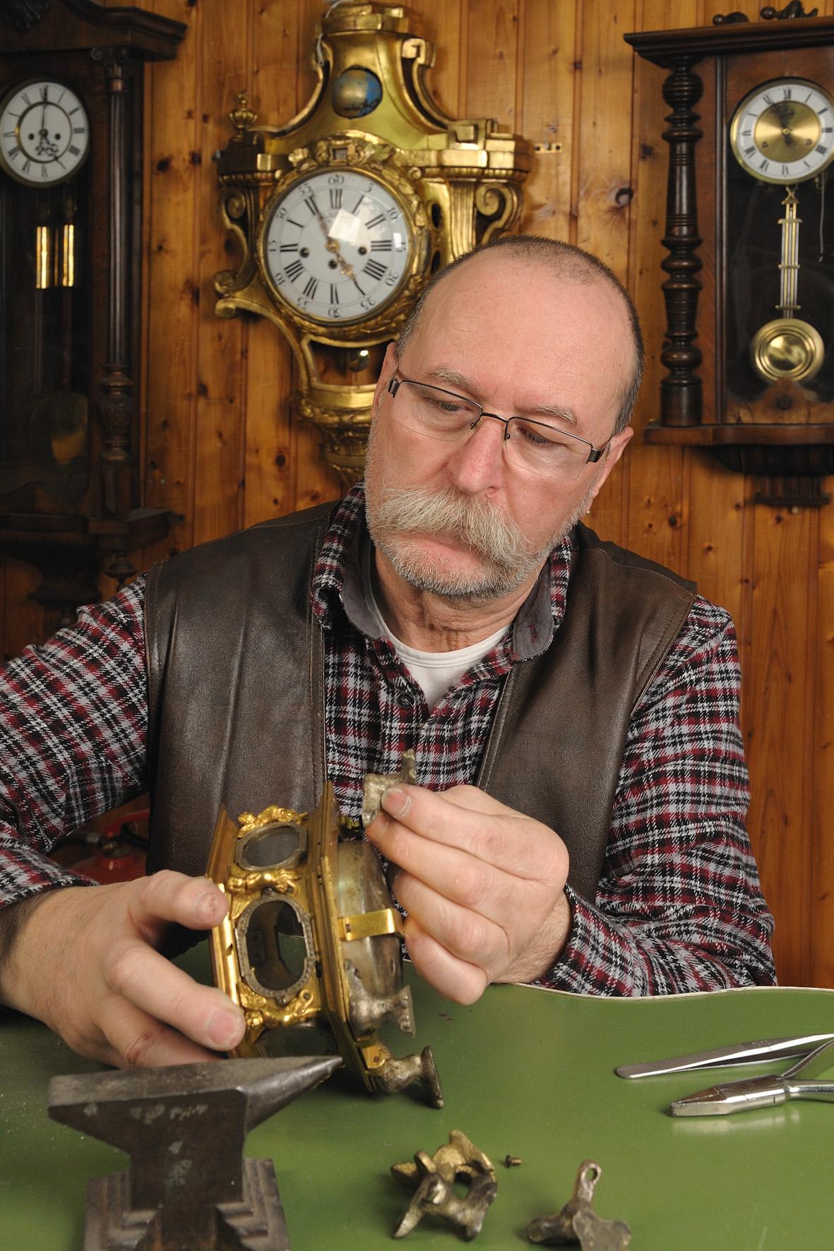 Uhrmachermeister Peter Wibmer